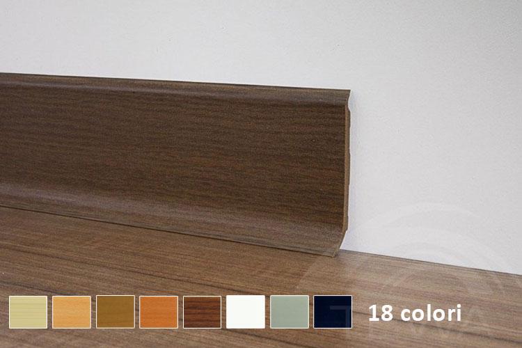Battiscopa pvc vendita online for Battiscopa in legno leroy merlin