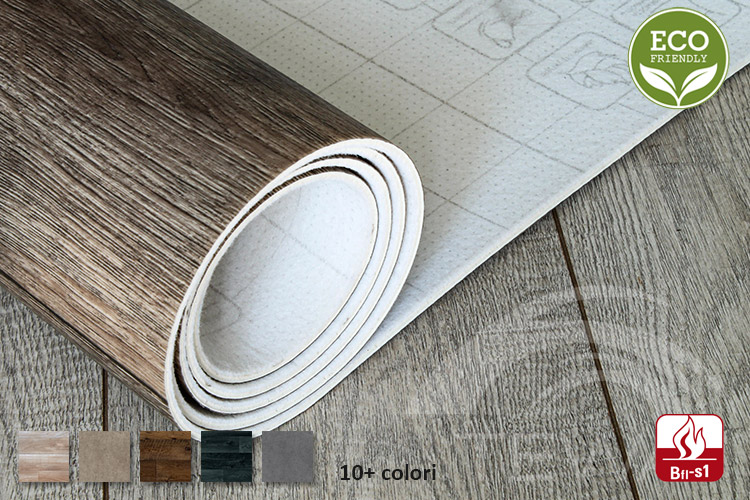 Pavimento Vinilico a Rotoli Design Collection PVC